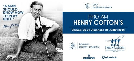 Pro-Am Henry Cotton's Cover