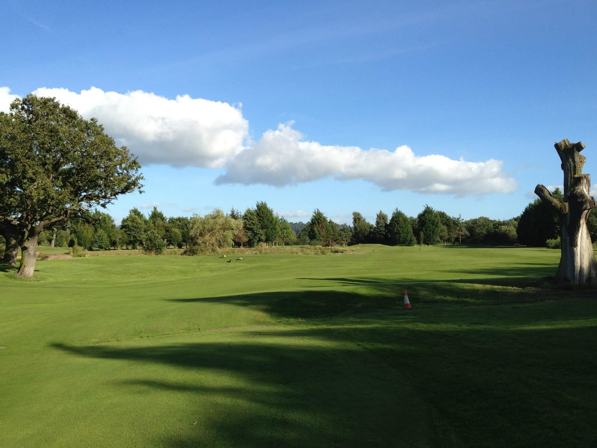 Aldersey green golf club cover picture