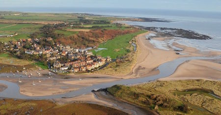 Overview of golf course named Alnmouth Village Golf Club