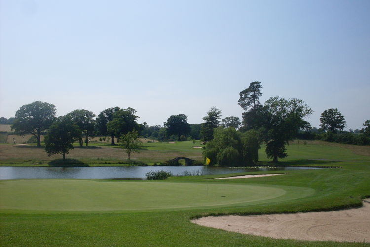 Astbury hall golf club cover picture