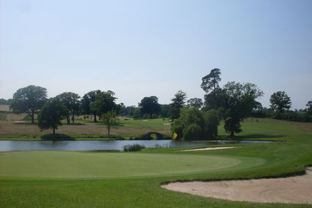 Overview of golf course named Astbury Hall Golf Club