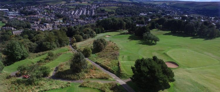 Bacup golf club cover picture