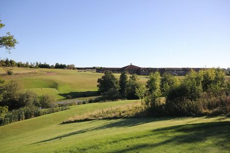 Overview of golf course named Greetham Valley
