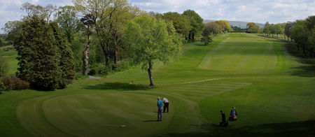 Overview of golf course named Bentham Golf Club