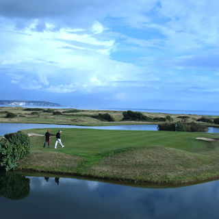 Barton on sea golf club cover picture