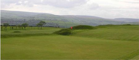 Overview of golf course named Hebden Bridge Golf Club