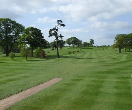 Overview of golf course named Henlle Park Golf Club