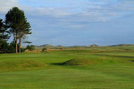 Overview of golf course named Berwick Upon Tweed Golf Club - Goswick Links