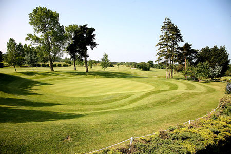 Overview of golf course named Sand Martins Golf Club