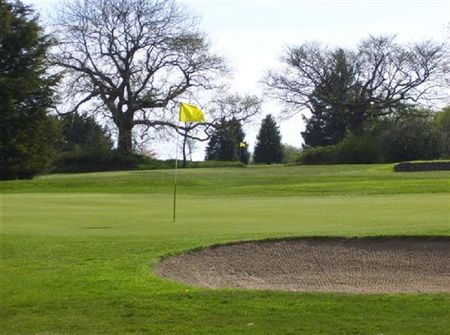 Overview of golf course named Honiton Golf Club