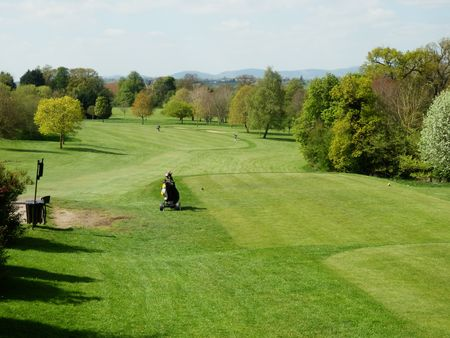 Overview of golf course named Tewkesbury Park Hotel Golf and Country Club