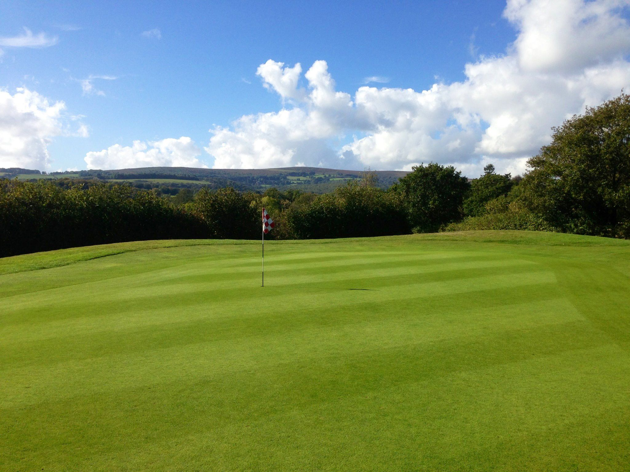 Bovey tracey golf club cover picture