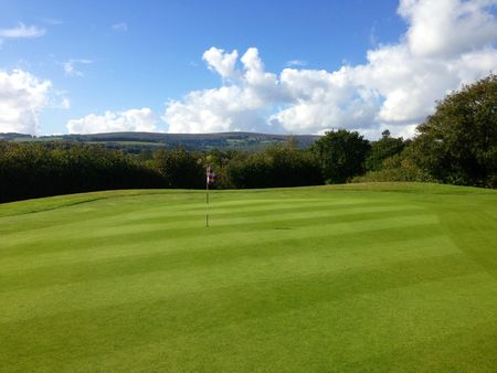 Overview of golf course named Bovey Tracey Golf Club