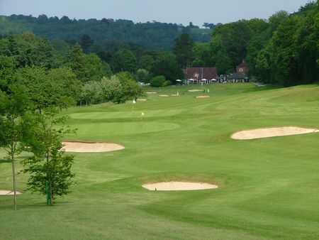 Overview of golf course named Henley Golf Club