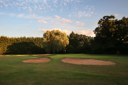 Overview of golf course named Ruislip Golf Club