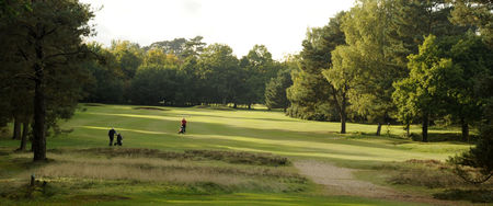 Overview of golf course named Thetford Golf Club