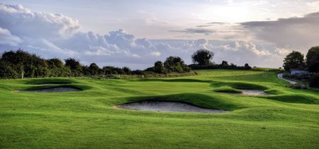 Hockley golf club cover picture