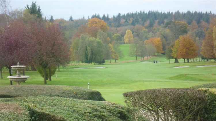 Basingstoke golf club cover picture