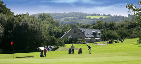 Overview of golf course named Teign Valley Golf Club