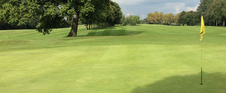 Sandbach golf club cover picture