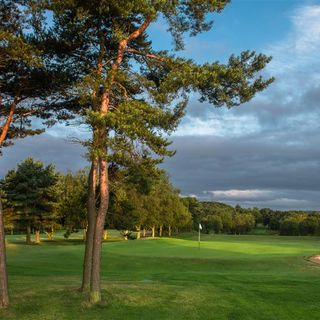 Sand moor golf club cover picture