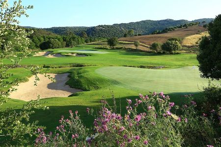 Overview of golf course named Domaine de Murtoli