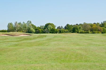 Overview of golf course named Hornsea Golf Club