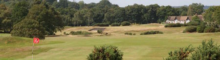 Overview of golf course named Sandy Lodge Golf Club