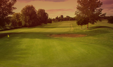 Sunbury golf club cover picture