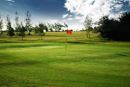 Overview of golf course named South Cerney