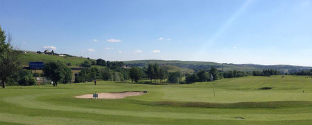Overview of golf course named Tunshill Golf Club
