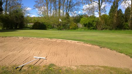 Warwick golf club cover picture