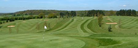 Overview of golf course named Wensum Valley Hotel, Golf and Country Club
