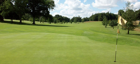 Weston park golf club cover picture