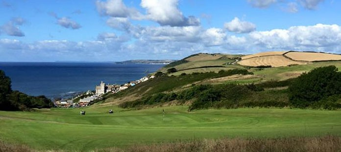 Overview of golf course named Whitsand Bay Golf Club