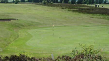 Overview of golf course named Branshaw Golf Club