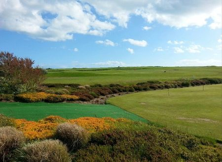 Bridport and west dorset golf club cover picture