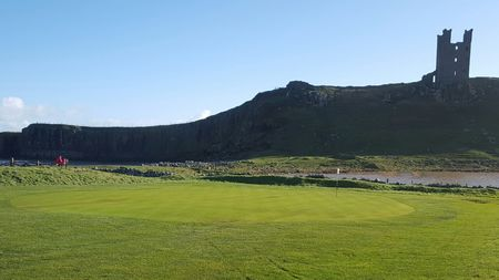 Dunstanburgh castle golf club cover picture