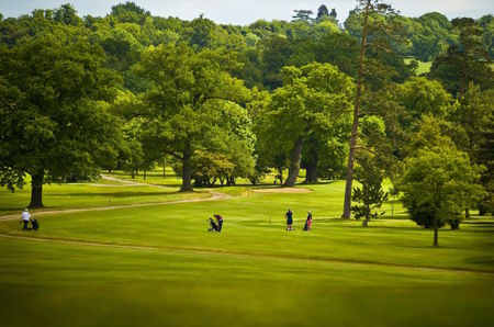 Dyrham park golf club cover picture