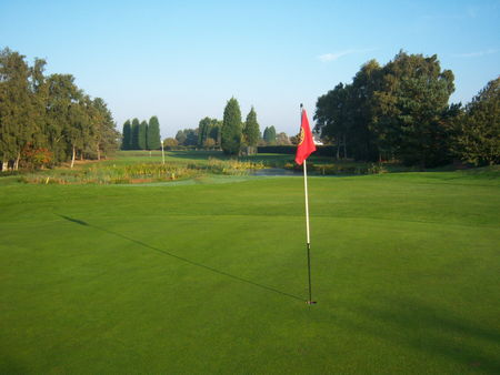 Overview of golf course named Lincoln Golf Club
