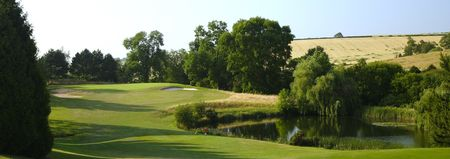 De vere herons reach golf club cover picture
