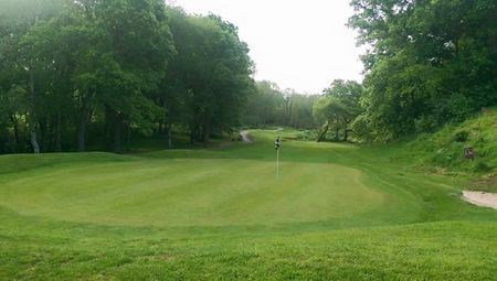 Malkins bank golf club cover picture