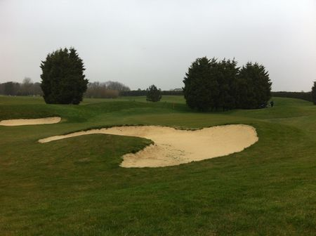 Manston golf club cover picture