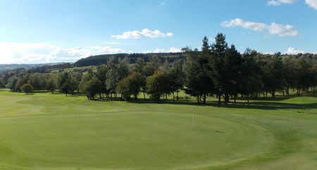 Overview of golf course named Matlock Golf Club