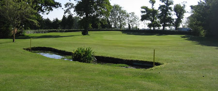 Overview of golf course named Cowes Golf Club
