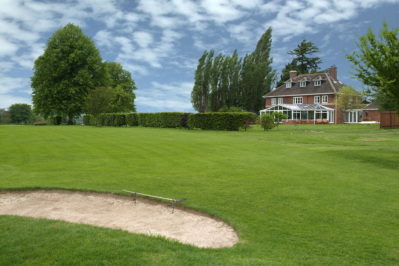 Brockington hall golf club cover picture