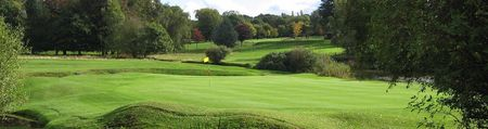 Overview of golf course named Brocton Hall Golf Club
