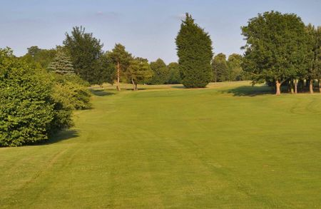 Overview of golf course named Burghley Park Golf Club