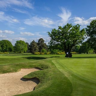Burhill golf club cover picture