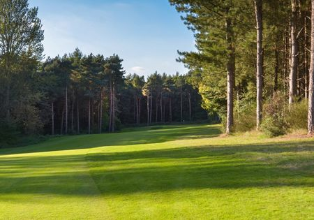 Overview of golf course named Northamptonshire County Golf Club